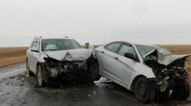 «Лоб в лоб»: Смертельное ДТП произошло на трассе Алматы — Караганда