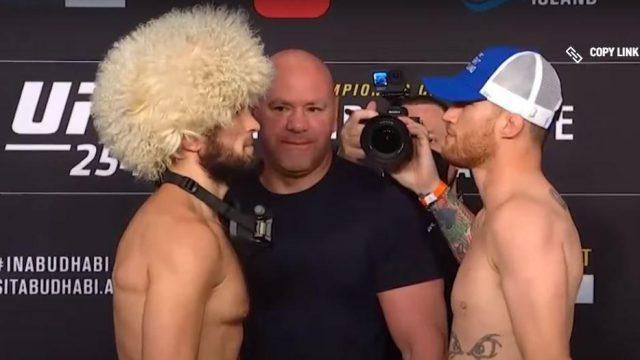 Сегодня состоится бой года в UFC между Хабибом и Гэтжи