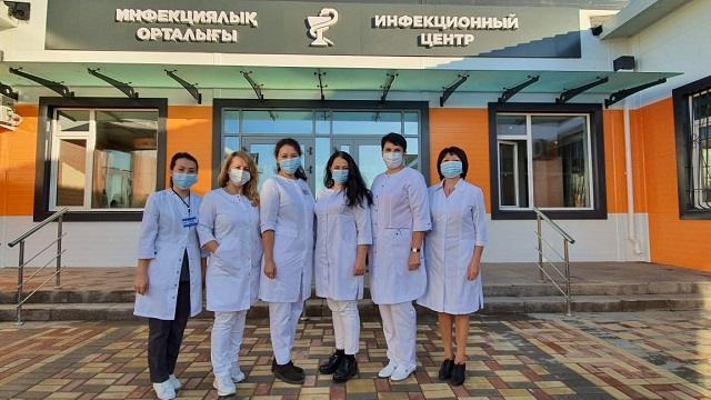 В Костанае сдано в эксплуатацию инфекционное отделение на 200 мест