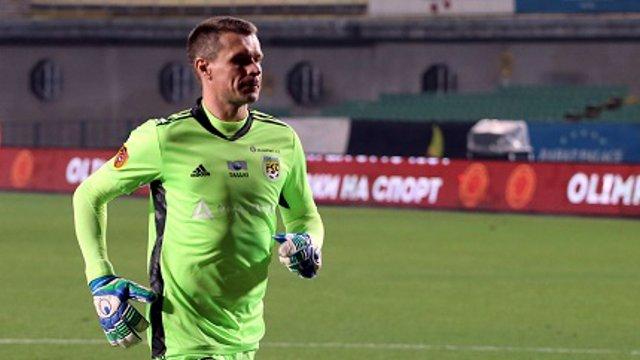 Вратарь Александр Мокин завершил карьеру в сборной Казахстана