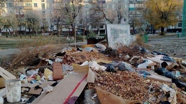 Власти Рудного всерьёз взялись за проблему стихийных свалок во дворах