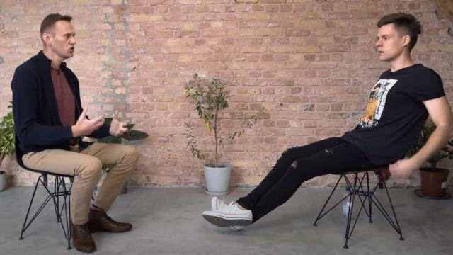 Видео: Навальный с женой дали интервью Дудю после случая с отравлением