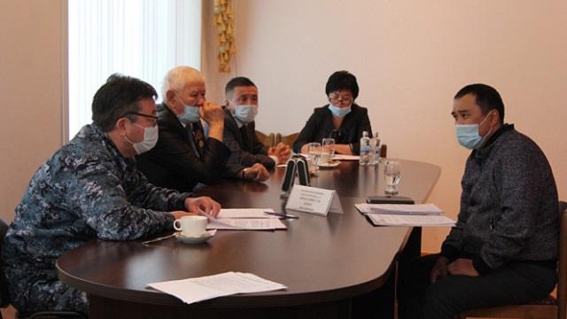 Глава ДП Костанайской области Бекет Аймагамбетов провел прием граждан в Аркалыке