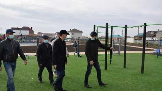 В Костанае появятся свыше 50 спортивных детских площадок