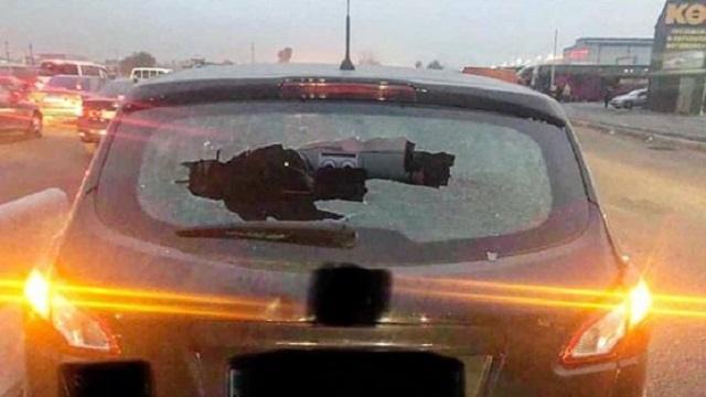 «Отказались дать денег»: Попрошайка с детьми напала на водителя в Алматы