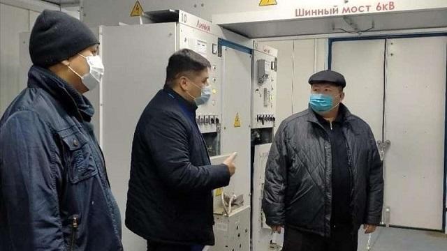 Аким Рудного ознакомился с работой фильтровальной станции ТОО «Рудненский Водоканал»