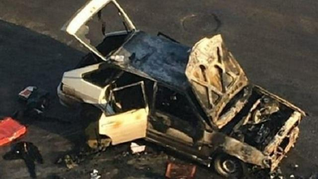 Видео: В центре Костаная горел автомобиль