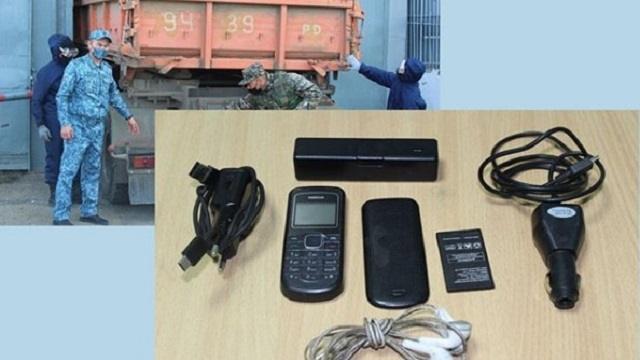 Провал. В колонию строгого режима Костанайской области пытались передать телефон