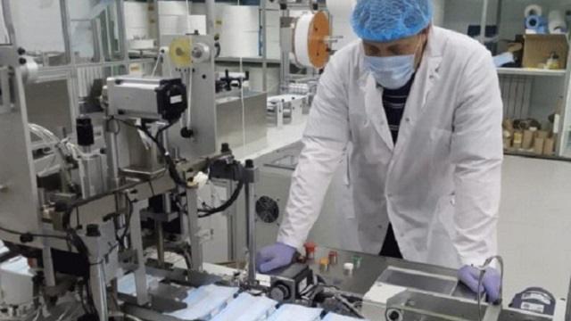 Производство одноразовых медицинских масок будет запущено в Костанайской области