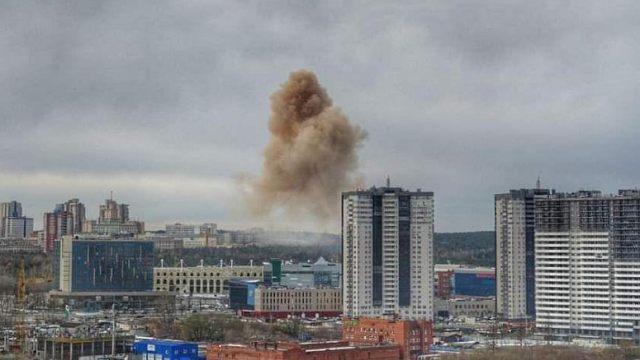 Взрыв произошёл в городской больнице Челябинска