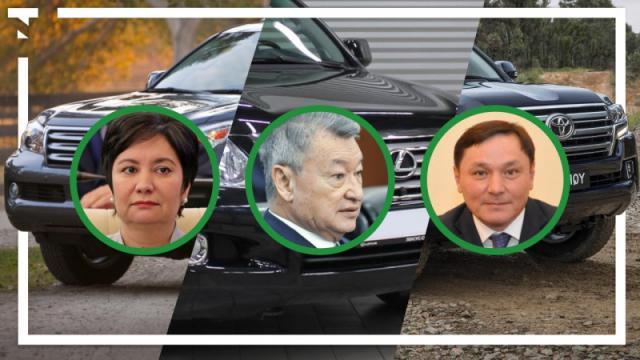 На каких автомобилях ездят акимы областей в Казахстане?
