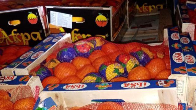 Грузовик с турецкими апельсинами челябинские таможенники не пустили в Костанайскую область