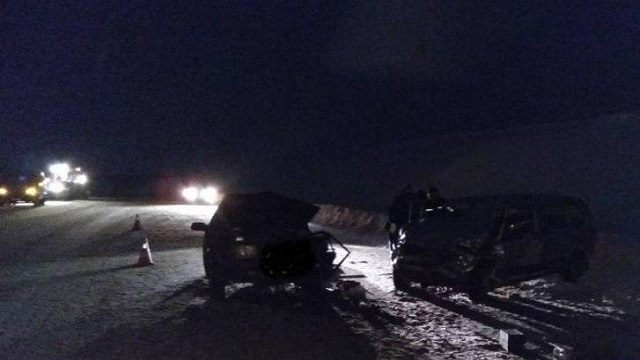 «Смертельное столкновение»: Два человека погибли в ДТП на трассе в Павлодарской области