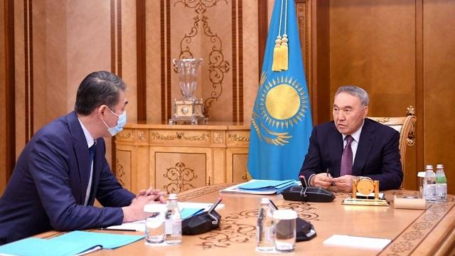 Нурсултан Назарбаев дал ряд поручений по вопросам нацбезопасности