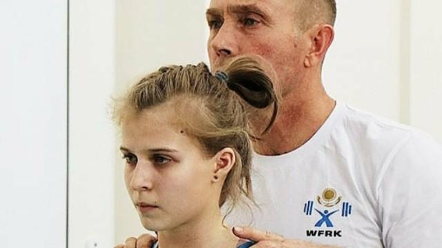 Серебро чемпионата Казахстана по тяжелой атлетике завоевала Екатерина Алякина из Костанайской области
