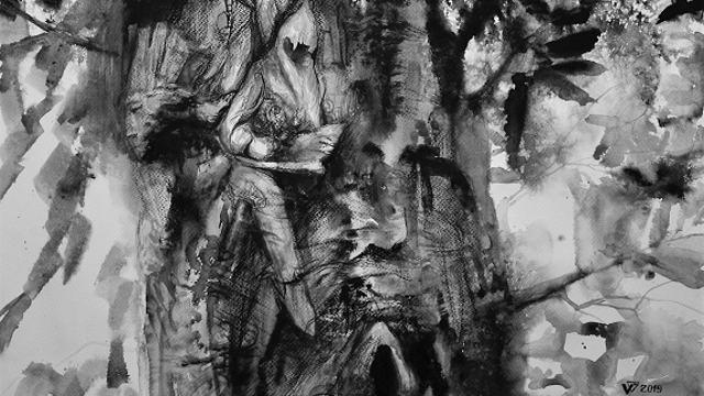 «Тёплые чувства к деревьям»: Выставка немецкого художника Владислава Галбена открывается в Костанае