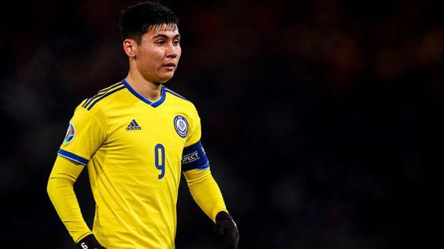 Капитан сборной Казахстана по футболу Исламхан попался на допинге в Лиге чемпионов