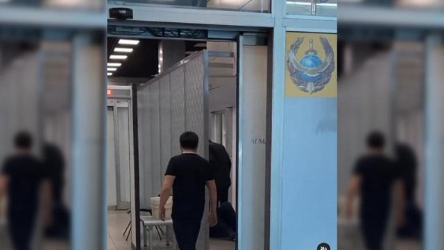 Буйный житель Костаная избит полицейским в аэропорту Алматы
