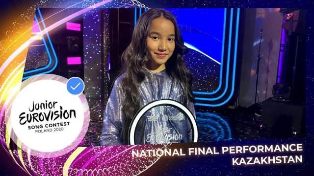 «Детское Евровидение»: Как проголосовать за Каракат Башанову из Казахстана?