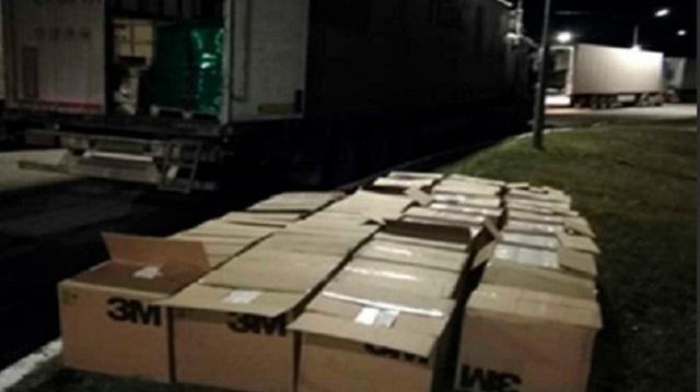 Пресечена попытка незаконного вывоза из Костанайской области масок и респираторов на пять млн тенге
