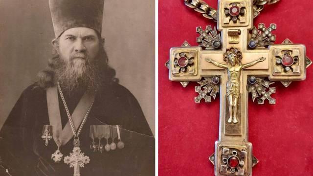 Крест зарубленного 100 лет назад священника из Усть-Каменогорска нашёлся в антикварной лавке