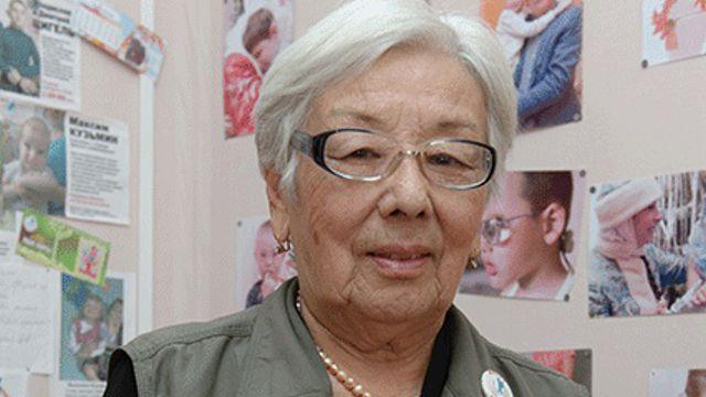 Известный врач Купей Мальчубаева отмечает 80-летний юбилей в Костанае