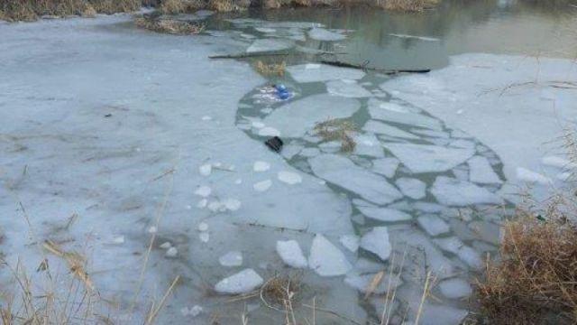 Искали водолазы: Дети провалились под лёд на поливном канале в Жамбылской области