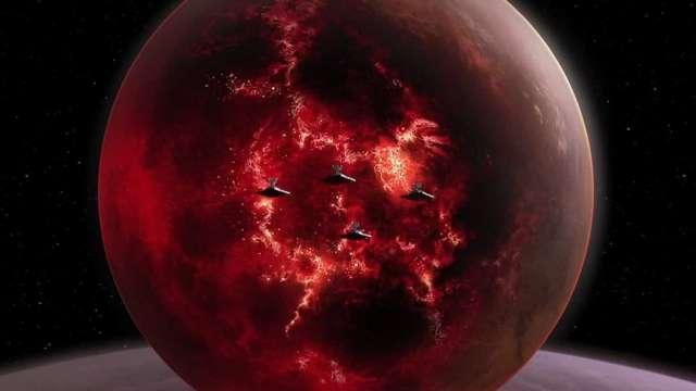 Британские учёные обнаружили подобие планеты Мустафар из киноэпопеи «Звёздных войн»