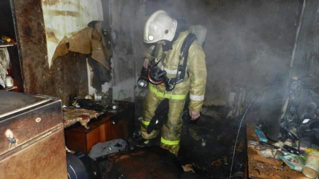 Пожар в селе Костанайской области унес жизнь мужчины