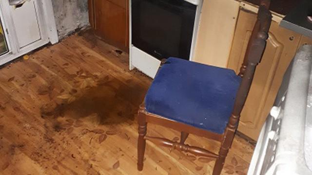 Ночная пьянка закончилась пожаром в Рудном