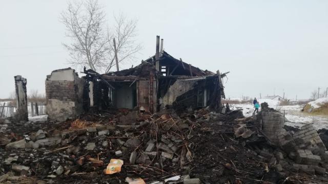 Смерть младенца и пожар: две трагедии подряд пережила семья из Костанайской области