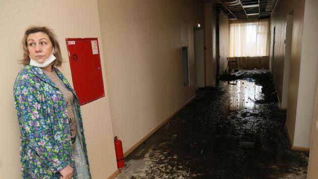 Пожар в Фёдоровской райбольнице. Пять часов бедствия в рассказах очевидцев