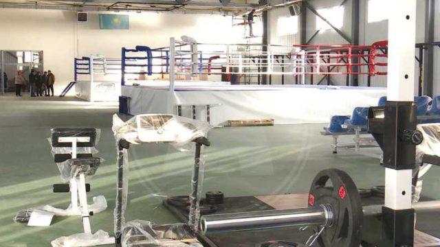 Школа бокса готовится к открытию в Костанае