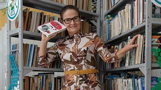 «Библиотекарь – не молчаливая тётя!» — Директор библиотеки Надежда Теплякова из Костаная