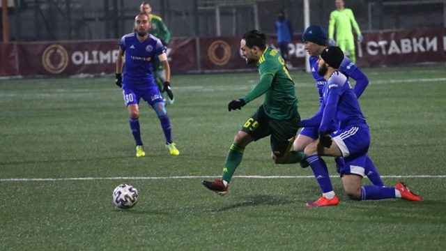 Костанайский «Тобол» сделал ещё один шаг к серебру чемпионата Казахстана по футболу