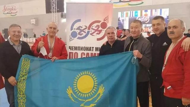 «Я – казах! Не могу поступить иначе»: Самбист из Рудного Анатолий Веклич стал чемпионом мира