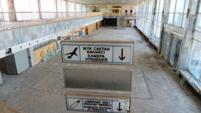 Полуразрушенный аэропорт Аркалыка выставлен на продажу за 30 млн тенге
