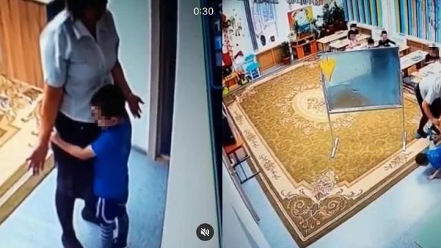 «Требуем справедливости!»: Видео избиения ребенка воспитателем обсуждает Казнет