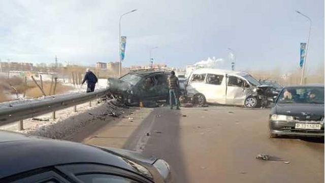 Стали известны подробности страшной аварии на Большом мосту Костаная