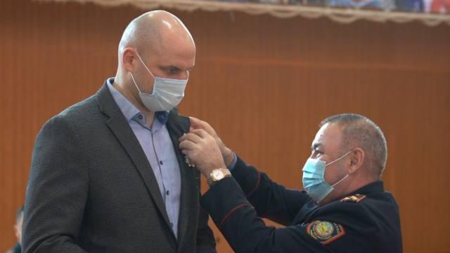Иван Дычко и другие именитые спортсмены поздравили общество «Динамо» с 95-летием