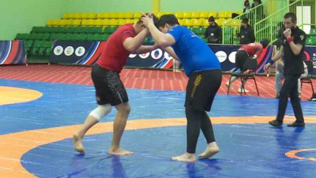 Костанайские борцы стали лучшими на чемпионате Казахстана по грэпплингу