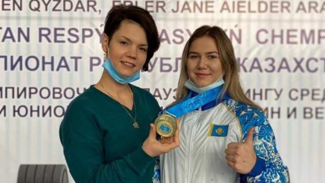 Валерия Кочина из Костанайской области стала чемпионкой Казахстана по пауэрлифтингу