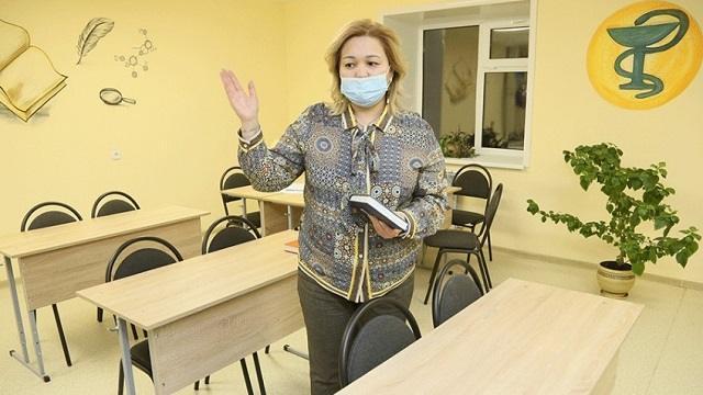 Открытие общежития высшего медицинского колледжа состоялось в Костанае