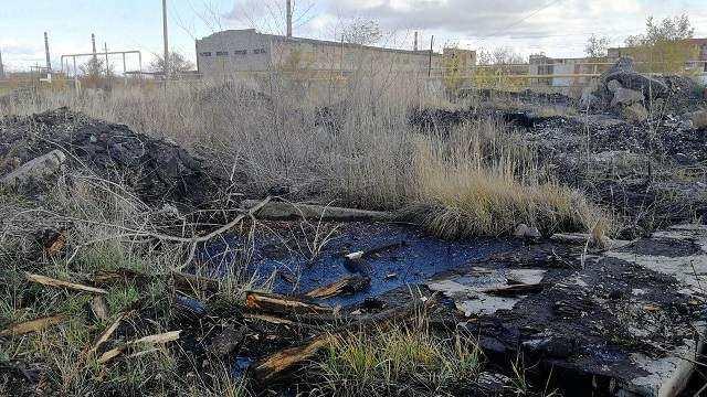 Битумное озеро под Рудным будет выставлено на торги