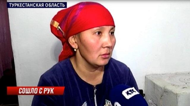 Видео: 14-летнему казахстанцу оторвало кисть во время работы на кирпичном заводе
