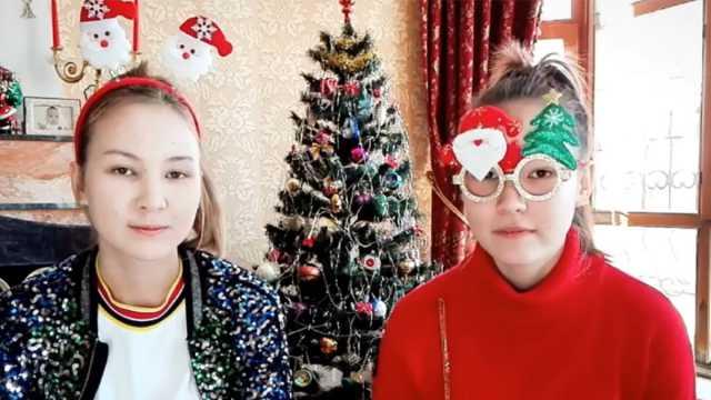 Сёстры из Казахстана возмутились тем, что у детей воруют Новый год