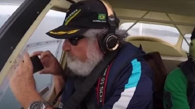 Видео: Выпавший из самолета смартфон записал свой полет на видео