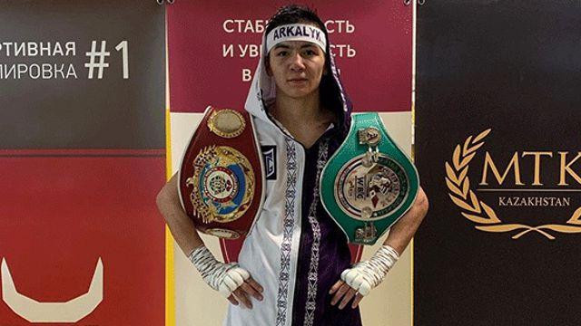 Боксёр из Костанайской области Торгынбек Амиров завоевал два чемпионских пояса