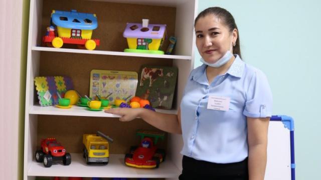 Новый детский сад открыли в пригороде Костаная