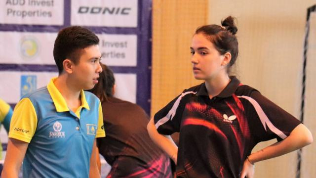 Костанайка Алина Борисюк заняла третье место на чемпионате Казахстана по настольному теннису